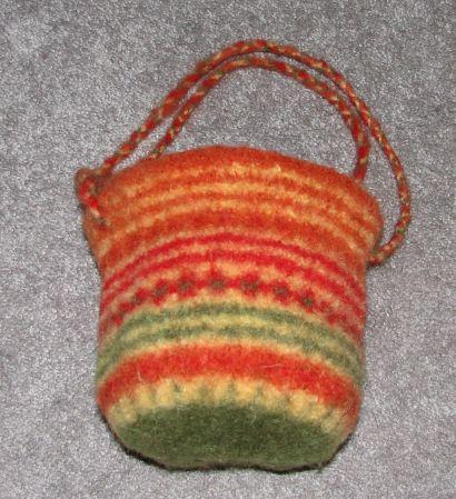 Secret Treasures bag (post-felt)