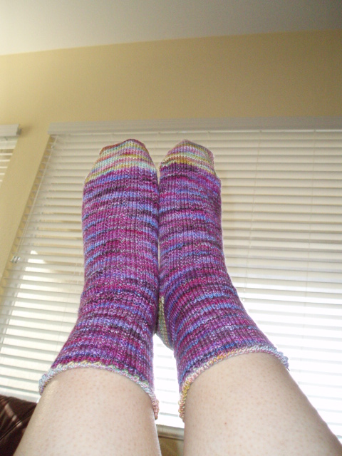 Koigu two color socks